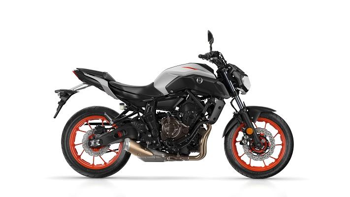 Yamaha MT-07 Zwart